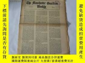 二手書博民逛書店外文原版報紙罕見THE MANCHESTER GUARDIAN WEEKLY 1948年4月8日 第15期 共16