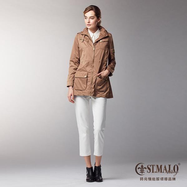 【ST.MALO】微城風起輕暖外套-1708WJ-金沙棕