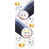【日本製】【和布華】 日本製 注染拭手巾 鬼的惠方卷壽司圖案 SD-5045 - 和布華