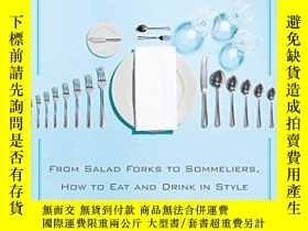 二手書博民逛書店The罕見Mere Mortal s Guide To Fine DiningY256260 Rush, Co