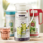 冷水壺塑料冷水壺家用密封涼水壺耐熱大容量耐高溫茶壺果汁