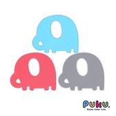 藍色企鵝 PUKU Baby GaGa 小象固齒器 (含鍊夾/收納盒) 10714 好娃娃