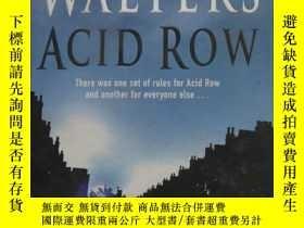 二手書博民逛書店英文原版書罕見Minette Walters ACID ROW雲
