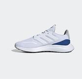 Adidas ENERGYFALCON 男款運動跑步鞋 白藍-NO.EE9847