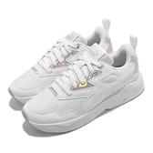 Puma 休閒鞋 X-Ray Lite Metallic 白 銀 女鞋 復古慢跑鞋 老爹鞋 【ACS】 36885803