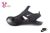 NIKE SUNRAY PROTECT 2 護趾涼鞋 中童 運動型防水涼鞋 P7062#黑◆OSOME奧森鞋業
