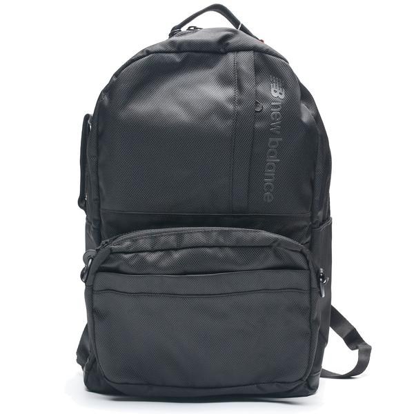 NEW BALANCE 全黑 全黑 機能後背包 可拆式側背 電腦包 書包 (布魯克林) LAB93023BK