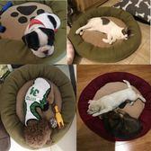 小型犬泰迪狗窩耐咬四季狗狗屋睡墊寵物用品沙髮狗床墊子貓窩夏季igo