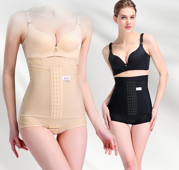 束腰高腰提臀雙層收腹褲薄款修復束腰內褲女夏季  - janm00740