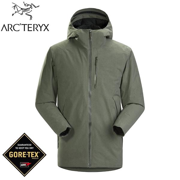 【ARC'TERYX 始祖鳥 男 Radsten GT化纖外套《鐵樹雜綠》】25881/Gore-Tex/派克大衣/夾克/防風雨