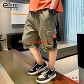 男童短褲童裝兒童工裝中褲休閑新款韓版洋氣潮【齊心88】