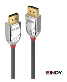 [ 中將3C ]   LINDY林帝 CROMO鉻系列 DISPLAYPORT 1.4版 公 TO 公 傳輸線 2M  (36302)
