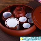 茶具 紫砂功夫套裝現代家用簡約潮汕整套陶瓷茶盤茶壺茶杯泡茶套裝 - 快速出貨