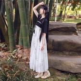 新漢元素古裝服裝齊胸襦裙古風連身裙改良漢服 衣普菈 衣普菈