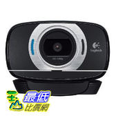 [美國直購 ShopUSA] 羅技高清攝像頭的可擕式 Logitech HD Portable 1080p Webcam C615 with Autofocus (960-000733)