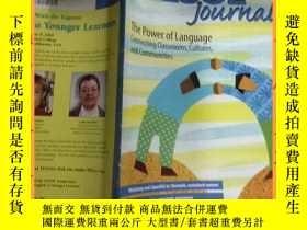 二手書博民逛書店英文書tesol罕見journal the power of language connecting classr