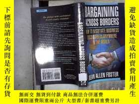 二手書博民逛書店BARGAINING罕見ACROSS BORDERS 跨國談判