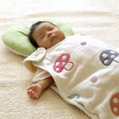 【日本 Hoppetta】日本製六層紗蘑菇防踢背心 防踢被 (嬰童0-3歲)