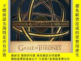 二手書博民逛書店Game罕見of Thrones: Deluxe Hardcover SketchbookY410016 .