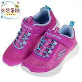 《布布童鞋》SKECHERS_GO_RUN_600閃亮織面桃色兒童運動鞋(17~23.5公分) [ N9DKMTH ]