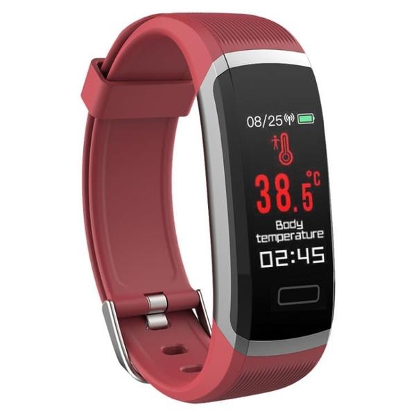 新款T6體溫智慧手環監測體溫監測運動手環消息提醒【新年特惠】