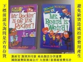 二手書博民逛書店英文書罕見:my weirder school(10、5) 共2本合售 32開 詳見圖片Y477186
