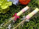 特價《婚禮小物- 五彩捲捲棉花糖串/支》*喜糖/桌上禮/送客禮/二次進場