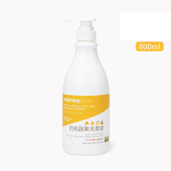 媽咪小站 奶瓶蔬果洗潔液(800ml)