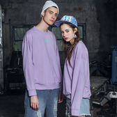 DADA SUPREME 黑人相片印花長袖上衣-共-紫