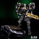 變形玩具金剛機器人酷變寶暗黑禁閉模型玩具男孩變形車機器人玩具 DJ10510『麗人雅苑』
