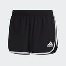 Adidas M20 PRIMEBLUE 女裝 短褲 慢跑 訓練 吸濕排汗 反光 黑【運動世界】GK1980