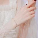 手鏈 925純銀手鏈女網紅心電圖小眾設計韓版森系個性閨蜜學生簡約手飾【快速出貨八折鉅惠】