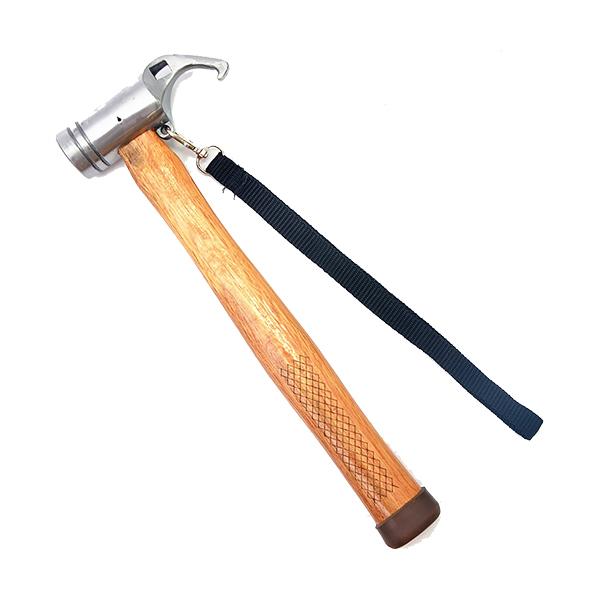 [DASIDENG] 武士高碳鋼野營錘 銀 (20A013)
