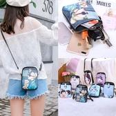 手機包女斜挎放手機的小包包豎款新款時尚百搭可愛零錢手機袋