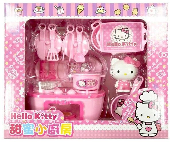 【Hello KITTY 】甜蜜小廚房←小廚房 廚房組 角色扮演 家家酒 伴 辦 醫生組 護士組 炊飯組