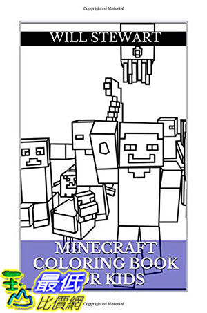 [ 美國直購 2015 暢銷書] Minecraft Coloring Book: Learning, Amazing and Fun Minecraft Coloring