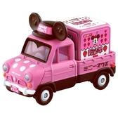 《 TOMICA 》夢幻小汽車 - 米妮小貨車 白色情人節版 / JOYBUS玩具百貨