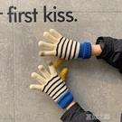 針織手套女 天韓版男女學生可愛毛線針織手套觸屏加厚騎車 快速出貨