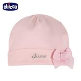 chicco-愛心小兔-立體蝴蝶結嬰兒帽