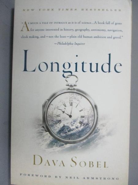 【書寶二手書T1/原文書_GDL】Longitude: The True Story of a Lone Genius Who…