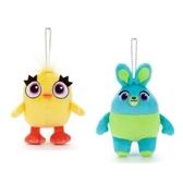 尼德斯Nydus   迪士尼玩具總動員4 新成員鴨霸與兔崽子娃娃玩偶吊飾鑰匙圈