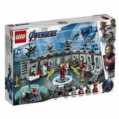 樂高LEGO SUPER HEROS 超級英雄 鋼鐵人 裝甲大廳 76125 TOYeGO 玩具e哥
