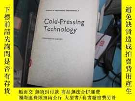 二手書博民逛書店7810罕見cold pressing technology冷衝