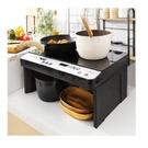 日本 IRIS 2口IH免安裝調理爐  IHKW12  免安裝  簡易安裝(含架高收納版)