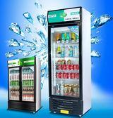維仕美冰櫃商用立式展示櫃冷藏櫃超市冰箱飲料櫃單門雙門保鮮櫃 220V igo 依凡卡時尚