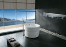 【麗室衛浴】BATHTUB WORLD  YG3319 壓克力  正圓漸層獨立缸 100*H66CM