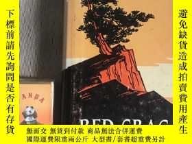 二手書博民逛書店RED罕見CRAG 紅巖 多版畫圖片 英文版硬精裝Y164936