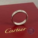 BRAND楓月 Cartier 卡地亞 AU750 K18白金HAPPY BIRTHDAY RING #53 5G 戒指