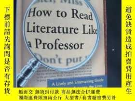 二手書博民逛書店How罕見to read literature like a p