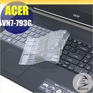 【Ezstick】ACER VN7-793 G 系列 專用奈米銀抗菌TPU鍵盤保護膜